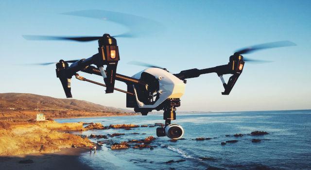cuola milano droni volo inspire